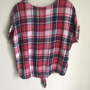 Universal Thread Tops - Universal Threads Good Co. Plaid Top Size 2